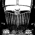 Mg Grill Black And White by Nick Kloepping