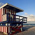 Miami Beach Watchtower by Melanie Viola