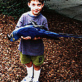 Michael And The Blue Macaw by Merton Allen