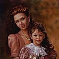 Michaela And Alexandra by Patrick Anthony Pierson