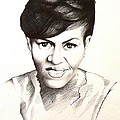 Michelle Obama by A Karron