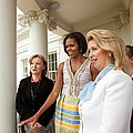 Michelle Obama Hosts First Lady by Everett