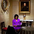 Michelle Obama Prepares Before Speaking by Everett