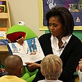 Michelle Obama Reads The Cat In The Hat by Everett