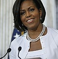 Michelle Obama Visited The Treasury by Everett