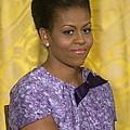 Michelle Obama Wearing An Anne Klein by Everett
