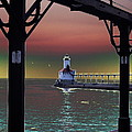 Michigan City Lighthouse 2 by Brook Steed