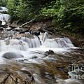 Michigan Waterfall by Ted Kinsman