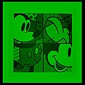 Mickey In Green by Rob Hans