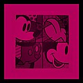 Mickey In Hot Pink by Rob Hans