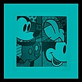 Mickey In Turquois by Rob Hans