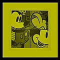 Mickey In Yellow by Rob Hans