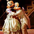 Micky And Minnie Mouse Skate by Darleen Stry