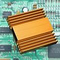 Microchip Processor Heat Sink by Sheila Terry