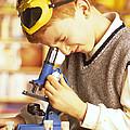Microscope Use by Mauro Fermariello