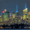 Mid-town Manhattan Twilight I by Clarence Holmes