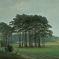 Midday by Caspar David Friedrich
