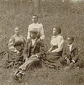 Middle Class African American Family by Everett