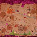 Middle Earth Map by Judy Henninger