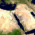 Middle East by Nasa