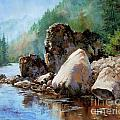 Middle Fork Salmon River by Michele Thorp
