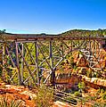 Midgley Bridge Sedona Arizona by Jon Berghoff
