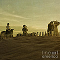 Midsummer Evening Horse Ride by Paul Grand