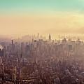 Midtown Manhattan At Dusk by Matthias Haker Photography