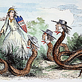 Midwest Copperheads, 1863 by Granger