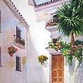 Mijas Spain by Mary Weir