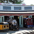 Mike Watson St. Turnhouse - Traintown Sonoma California - 5d19249 by Wingsdomain Art and Photography