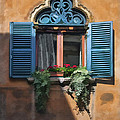 Milano Apartment Window by Sharon Foster