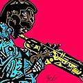 Miles Davis Full Color by Kamoni Khem