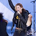 Miley Cyrus On Stage For Good Morning by Everett