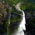 Milford Sound Waterfall by Carla Parris