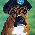Military Boxer by Debbie LaFrance