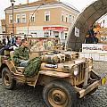 Military Old Car by Odon Czintos