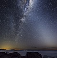 Milky Way Over Cape Otway, Australia by Alex Cherney, Terrastro.com