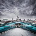Millenium Bridge London by Martin Williams