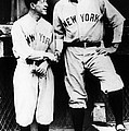 Miller Huggins, And Babe Ruth, Circa by Everett