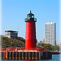 Milwaukee Harbor Lighthouse by Tommy Anderson