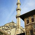 Minaret Of The Blue Mosque by Artur Bogacki