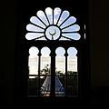 Minaret Through Window by David Lee Thompson