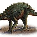 Minmi Paravertebra, A Prehistoric Era by Sergey Krasovskiy
