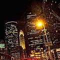 Minneapolis Night Lights by Susan Stone