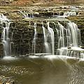 Minneopa Upper Falls 18 by John Brueske