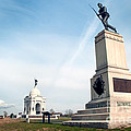 Minnesota Monument At Gettysburg by Paul W Faust -  Impressions of Light