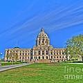 Minnesota State Capital Iv by Jimmy Ostgard