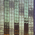 Mirrored Building by Mark Greenberg
