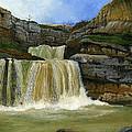 Mirusha Falls In Kosovo by Carlene Salazar